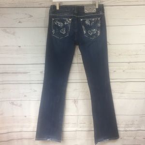 Miss Me Bling Easy Bootcut Jean size 29!